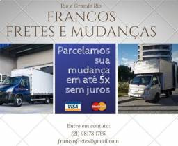 Título do anúncio: Mudança e Frete Barra da Tijuca , JPA e Recreio