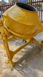 Título do anúncio: Vendo betoneira csm 400 litros com motor 110/220