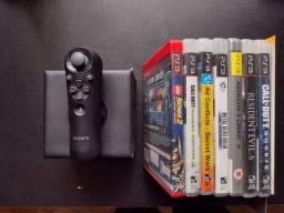 Título do anúncio:  Jogos Originais Ps3 e Controle de Navegação Sony