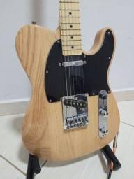 Título do anúncio: Guitarra Telecaster Sx Ash Natural + Bag + Segio Rosar