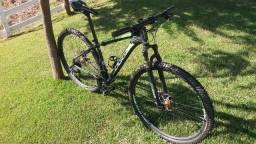 Título do anúncio: Bicicleta Oggi Hacker Sport tamanho 17 toda revisada
