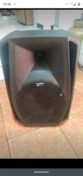 Caixa de som profissional 600w digital power