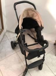Carrinho e bebê conforto + base !