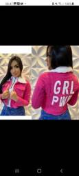 Jaqueta jeans Pink