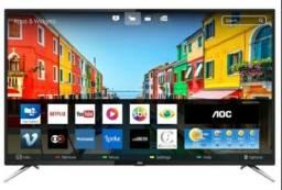 Tv Aoc smart 4k de 50 polegadas