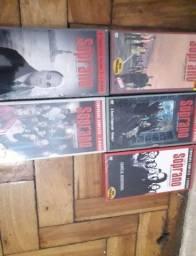 Box com dvds novos - temporadas    - Soprano  - Lacrados no plastico