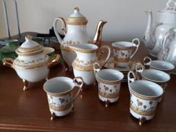 Conjunto de café completo porcelana chinesa
