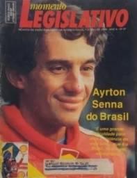 Momento Legislativo. Ayrton Senna