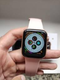 Relógio Smartwatch Bluetooth IWO 12 Lite Pro W26 Display Infinito Faz e Recebe Ligações