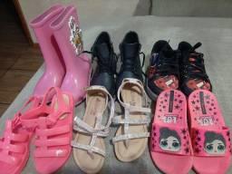 Combo calçados tamanho 28
