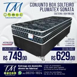 Promoção! Colchão Solteiro Sonata Black 26CM  Molas Verticoil!  12x Sem Juros<br>
