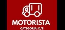 Título do anúncio: Transportadora seleciona Motoristas D e E