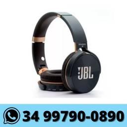 Fone de Ouvido Bluetooth Sd Rádio Fm P2 JB950