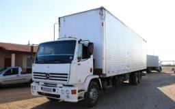 Caminhão baú furgão  Mb 2001 1418.