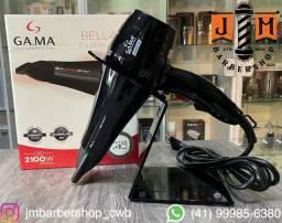 Título do anúncio: Secador Gama Bella Tourmaline 2100w novo com garantia nacional / somos loja do barbeiro