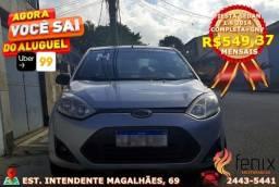 Fiesta Sedan 1.6 2014 Completa+GNV Impecável!