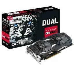 Asus AMD Radeon RX 580 OC 8GB, GDDR5 - DUAL-RX580-O8G