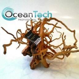 Tronco Raiz Natural Tratado Da Ocean Tech Para Aquários, Fontes E Lagos