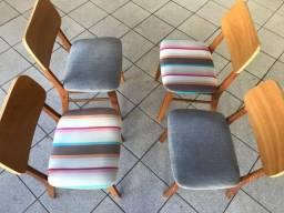 Conjunto 4 Cadeiras Maria - Designer Fernando Jaeger