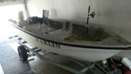 Casco de lancha barco