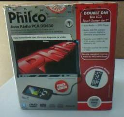Auto Rádio + DvD Player Double Din - Philco Pca DD630