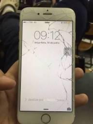 IPhone 6 Plus 16 GB (Trincado funcionando)