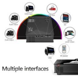 Projetor Led Uc46 Wifi Portatil Hdmi 130 Polegadas 1200 Lumens Unic