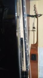 Guitarra Dean Vendetta 7 cordas preta