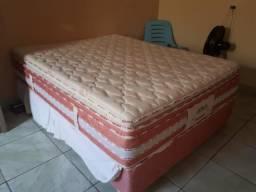 Vende cama QUEEN semi nova .