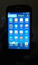 Vendo um celular s3 mini com um pequeno trinco 170 reais