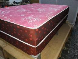 Cama Box Casal Nova de mola direto da fábrica
