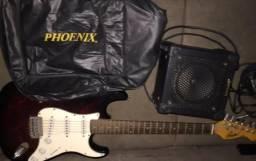 Promoção - Guitarra + Amplificador + Capa