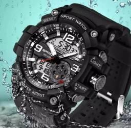 Relógio de pulso masculino skimmer à prova de água