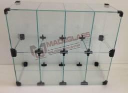 Baleiro de vidro em 10x sem juros no cartão