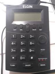 Telefone Headset Elgin com identificador de chamadas