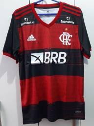 Camisa Do Flamengo I uniforme 2020/21 Novos Patrocínios Pronta Entrega