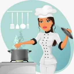 Cozinheira domiciliar Diarista. (Master Cook Personal)