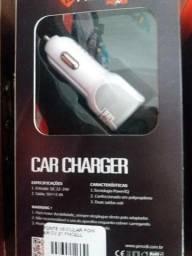 Carregador para carro novo