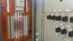Painel de comandos elétricos novo