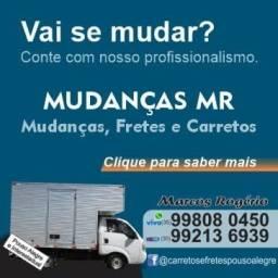 Fretes e mudanças em Pouso Alegre e interestadual * whatsapp
