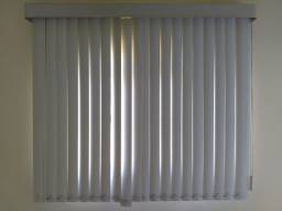 Cortina Persiana Vertical PVC Branca