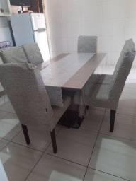 Mesa com 6 cadeira Kappesberg