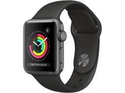 Apple Watch series 3 42mm - PRETO LACRADO