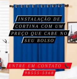 Instalação de cortinas com preço justo