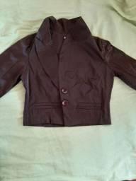 Linda jaqueta marrom
