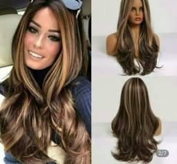 Peruca Importada ombré hair, Alta qualidade, 60cm (NOVO)