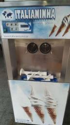 Máquina sorvete expresso italianinha trifásica 220