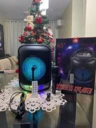 Caixa De Som Bluetooth, FM, Entrada usb