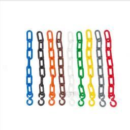 Corrente Plastica Colorida Grande - R$ 4,00/metro