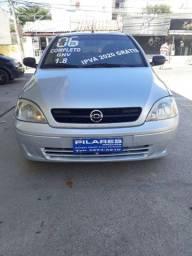 Corsa 2006 Sedan Maxx 1.8 Flex Com Gnv Ar Condicionado e Direção Hidráulica Ipva 2020Pago
